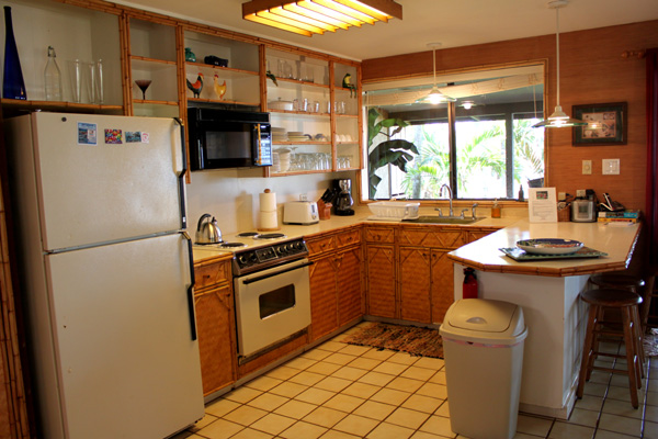full kitchen with high end appliances